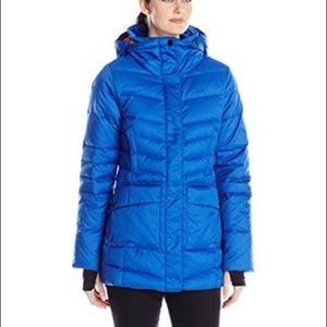 Lole Nicky Down Jacket XS Cobalt Blue EUC